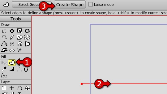 Create the shape