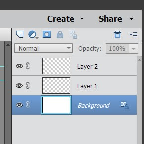 'Background' layers won't be transparent so can be removed