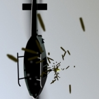 Matrix Helicopter Scene