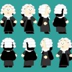 Female Judge Black Rigged