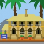 Police Station Background