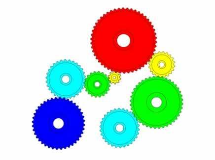 Gears Using Physics