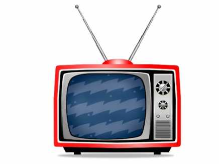 Static TV Cartoon
