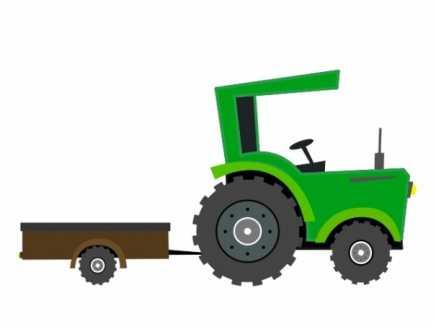 Tractor using BoneWheels