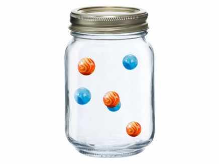 Marbles in Jar