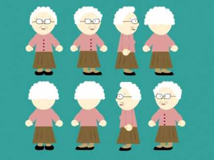 Old Woman Rigged