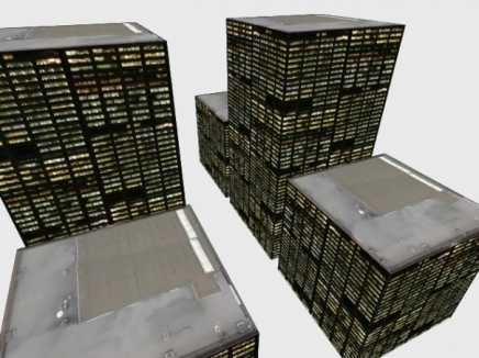 3D City Buildings using photos