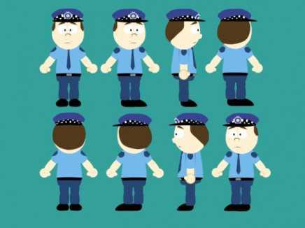 Policeman Rigged