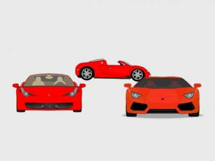 3 Exotic Cars