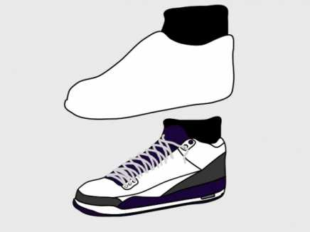 Shoe Template w Justos