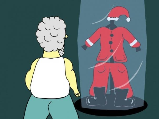Santa se prepara