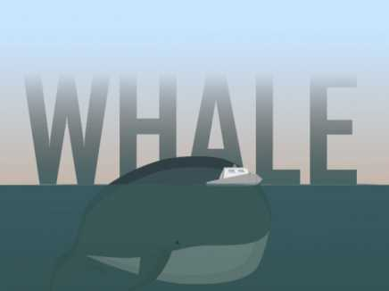 Whale 2D Animation