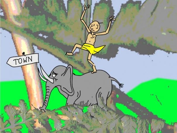 The Jungle Elephant