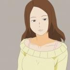 Girl Forward Walk Point Animation
