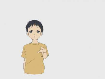 Boy Pointing Point Animation