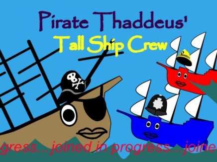 Pirate Thaddeus Tall Ship Rescue Heroes Patrol