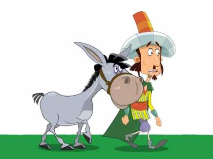 Donkey And Ali Baba Walk Cycle