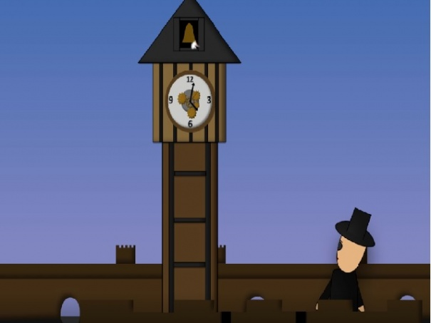Sniper in the clock tower