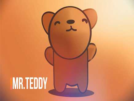 TEDDY lost his umbrella