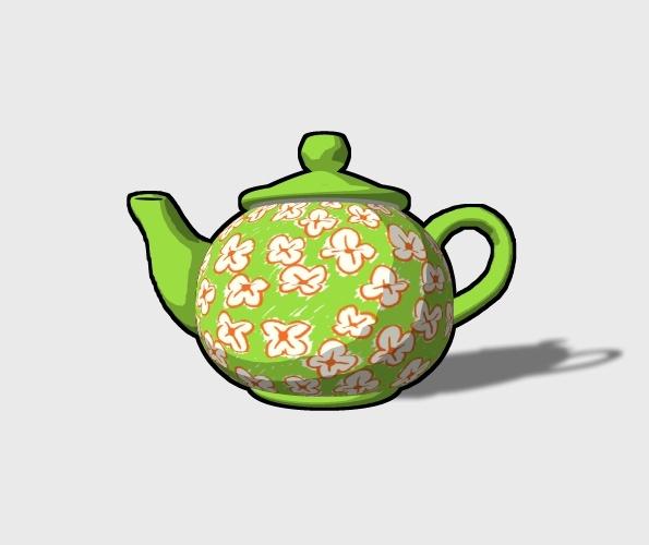 3D Teapot Preview 2
