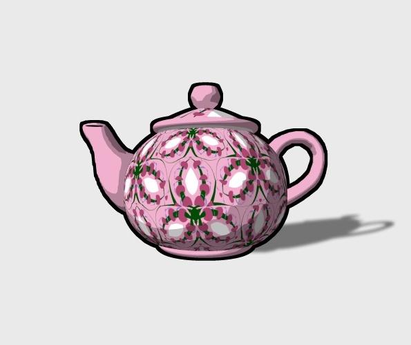 3D Teapot Preview 3