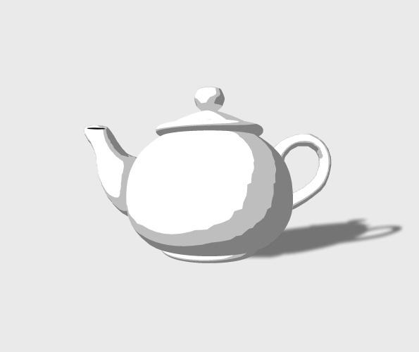 3D Teapot Preview 4