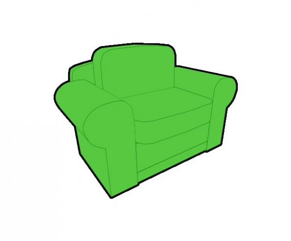 3D Chair Preview 2