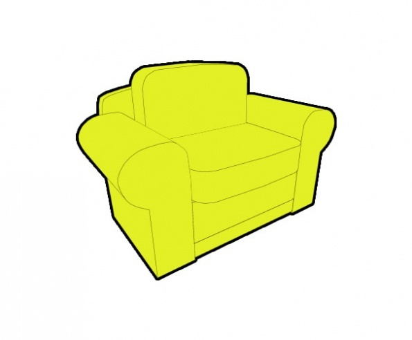 3D Chair Preview 4
