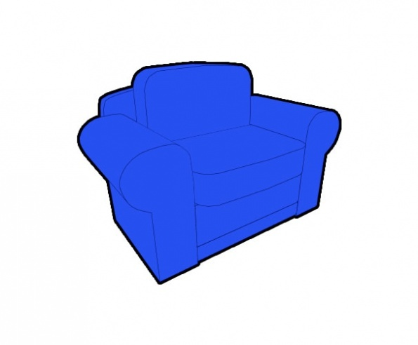 3D Chair Preview 5