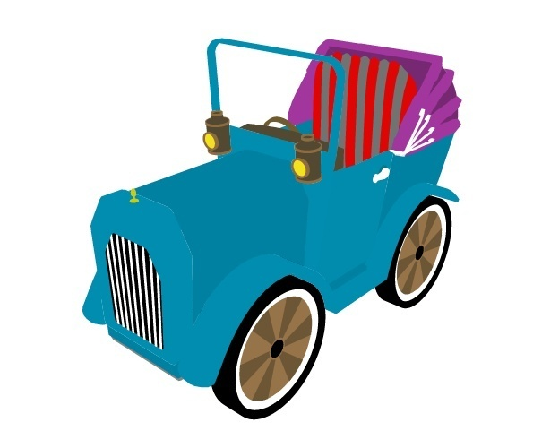 Old 3D Car Preview 1