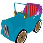 Old 3D Car