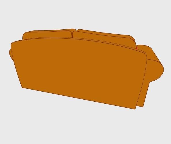 3D Sofa Preview 4
