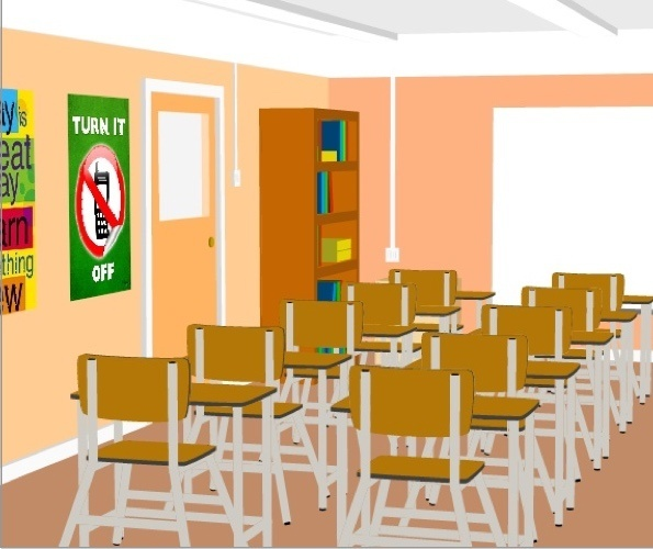 3D Classroom Preview 2