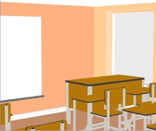 3D Classroom Preview 3