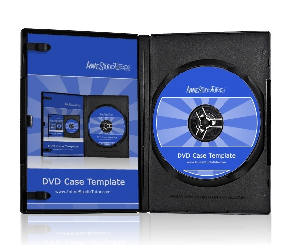 DVD Case Template Preview 1