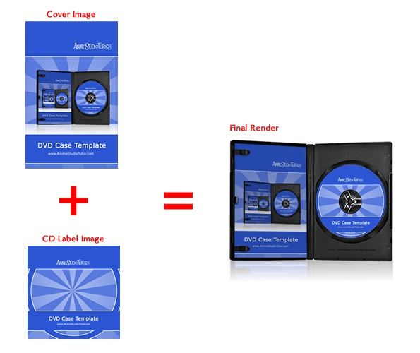 DVD Case Template Preview 3