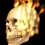 Ghost Flame Particle Effect