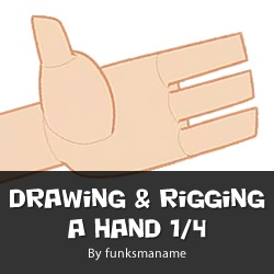 Drawing & Rigging A Hand Part 1