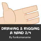 Drawing & Rigging A Hand Part 2