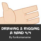Drawing & Rigging A Hand Part 4