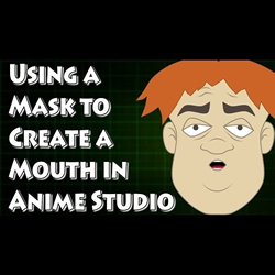Creating a Mouth with a Mask in Anime Studio