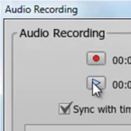 Integrated Audio Recording