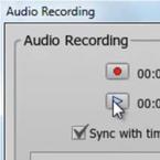 Integrated Audio Recording