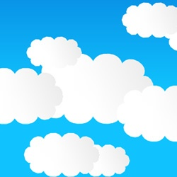 Draw cartoon clouds in Anime Studio