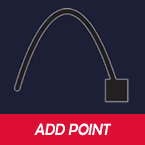 Add Point tool - draw lines and shapes