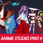 New in Anime Studio Pro 11