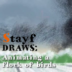 Animating a flock of birds