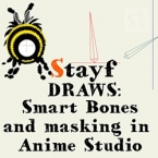 Smart Bones and Masking in Anime Studio