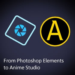 Photoshop Elements to Anime Studio