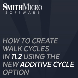 Anime Studio Pro 11.2 Additive Cycles